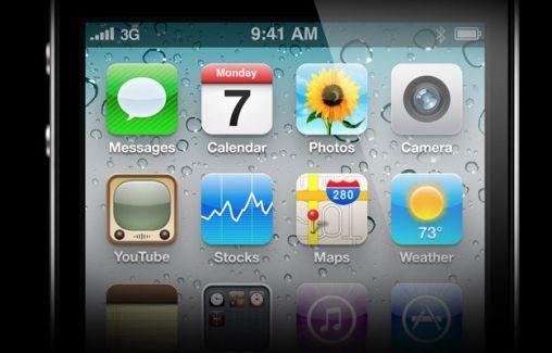 iPhone 4 scherm