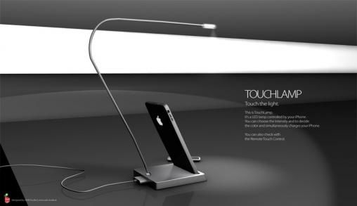 iPhone 4G TouchLamp