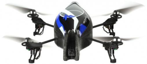 iPhone bestuurt Parrot AR.Drone Helikopter