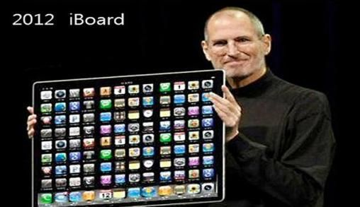 iPhone, iPad, iBoard en iMat