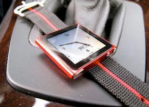 iPod Nano als Horloge