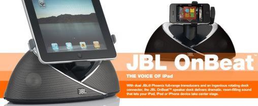 JBL OnBeat voor iPad