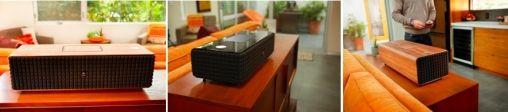 JBL speakers met design