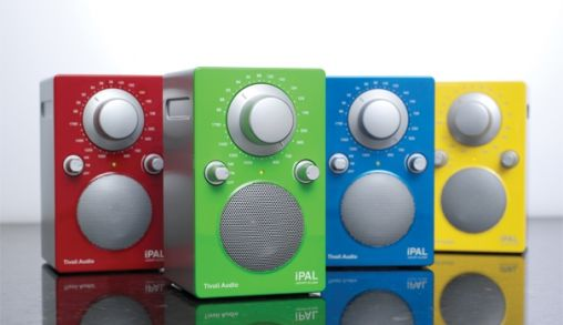 Kleurrijke Tivoli audio iPal Collectie