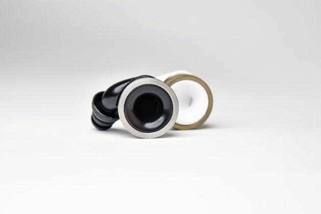 Knops-zwart-zilver