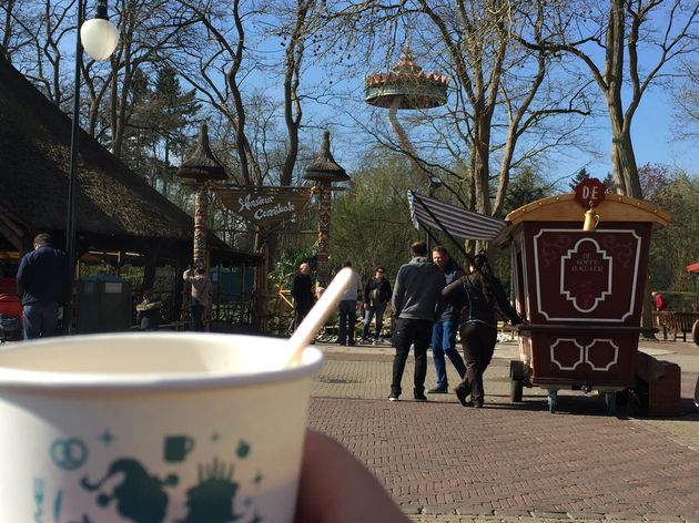 Kopje koffie in de Efteling
