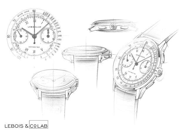 Lebois & Co horloge ontwerpen