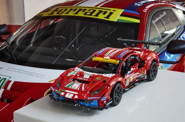 LEGO Ferrari rood