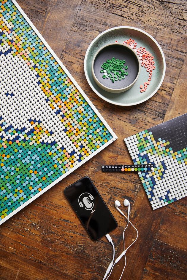 LEGO kaart wereld