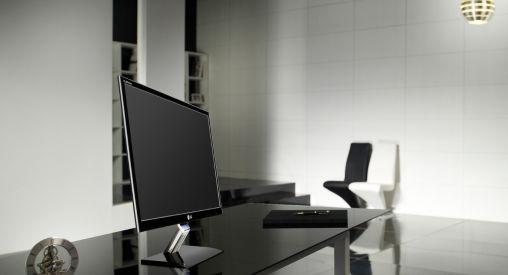 LG monitor: Ultradun, stijlvol ontwerp voor thuis en op kantoor