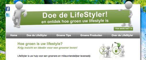 LifeStyler: Nieuw uniek Online Sociaal Platform bevordert Groenere Levensstijl