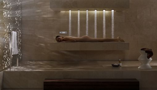 Liggend Douchen met Dornbracht