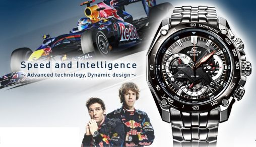 Limited edition Casio F1 Red Bull Racing-horloges