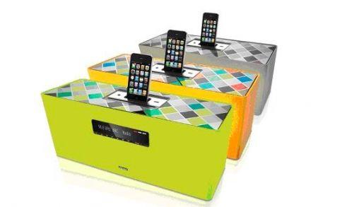 Loewe SoundBox in felle kleuren