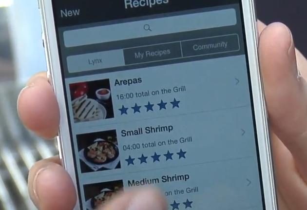 Lynx-smart-grill-app