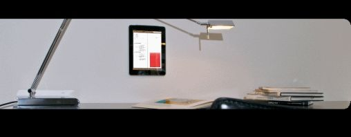 M-Duo plakt iPad aan de muur, maar niet bij mij!