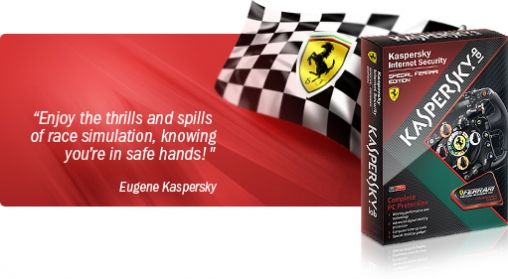 Maak Morgen Kans op Special Ferrari Edition van Kaspersky