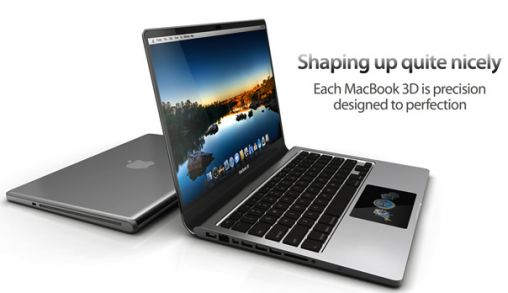 MacBook 3D ontwerp by Yanko Design