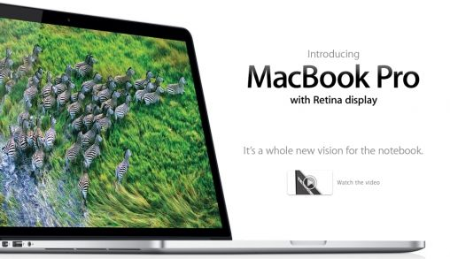 MacBook Pro met Retina Display en dikte van MacBook Air