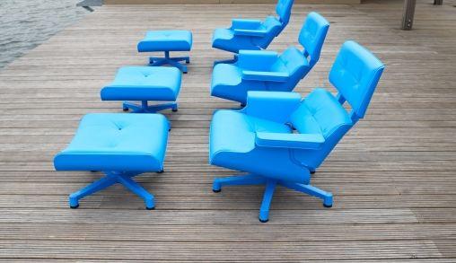 Mal 1956: Design stoel voor buiten