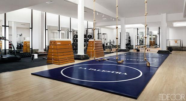 Manhattan gym Elledecor