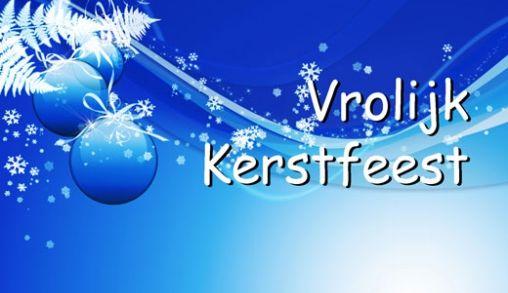 Merry Christmas, Joyeux Noël en een  Vrolijk Kerstfeest!