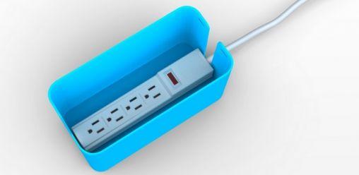 Met Bluelounge Cablebox geen wirwar meer!