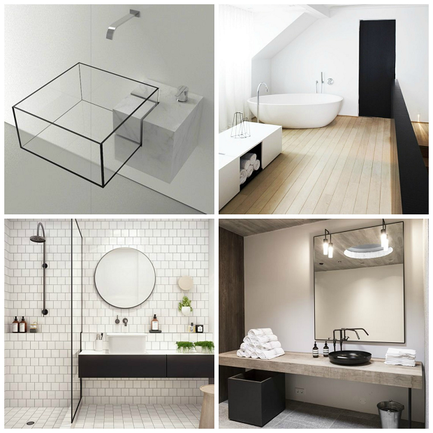 minimalisme badkamer