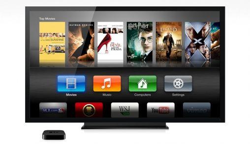 Nieuwe interface Apple TV