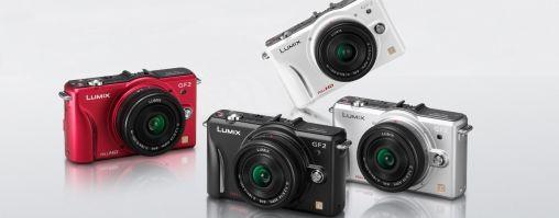 Nieuwe Panasonic DMC-GF2 camera met verwisselbare Lens