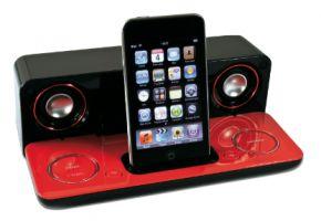 Nieuwe Sharp Compact iPod Docking voor Onderweg
