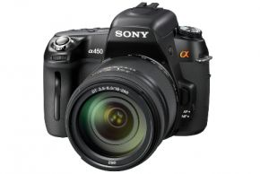 Nieuwe Sony DSLR Alpha 450