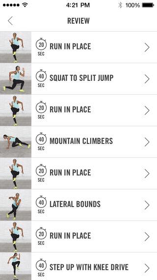 Nike trainings club