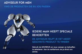 Nivea for Men geeft advies via mobiel