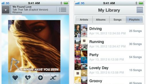 Nu ook Sony Music Unlimited op iPhone en iPod Touch