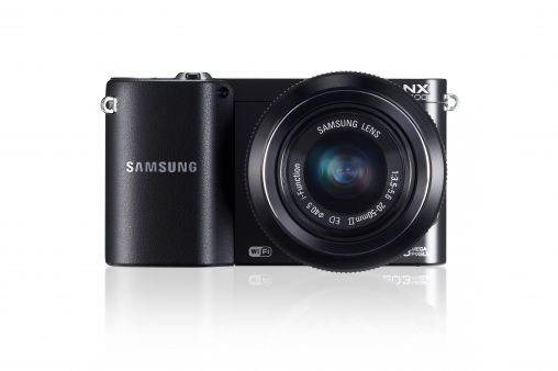 NX1100_002_Front-with-Lens_black