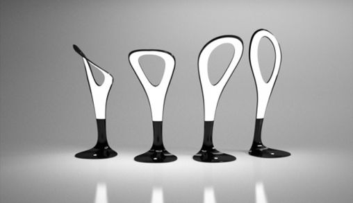 OLED Motion Lamp by Gergo Kassai