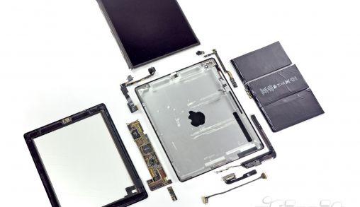 Ontmanteling iPad 2