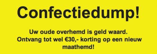 Oude Overhemden zijn geld Waard!!