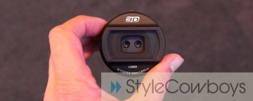 Panasonic 3D lens voor Lumix GH2