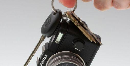 Pentax Q Fotocamera met verwisselbare lenzen als Sleutelhanger