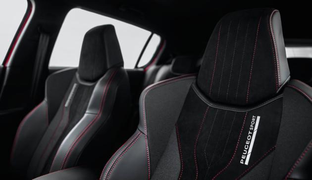 Peugeot 308 GTi bekleding