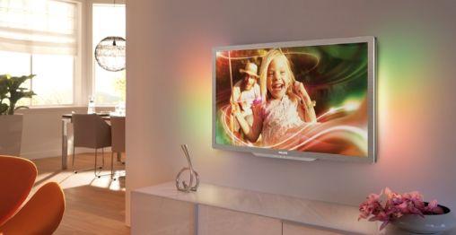 Philips 3D TV met lichte (passieve) Bril