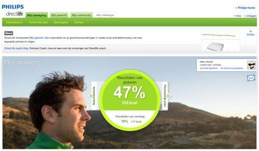 Philips DirectLife resultaat