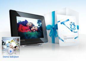 Philips lanceert online Fotoframe cadeaudienst