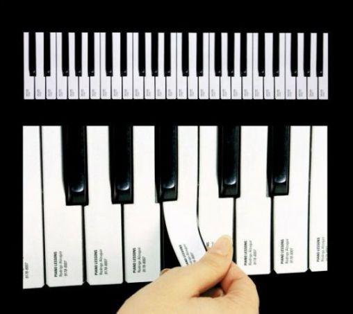 Piano-Advertisement