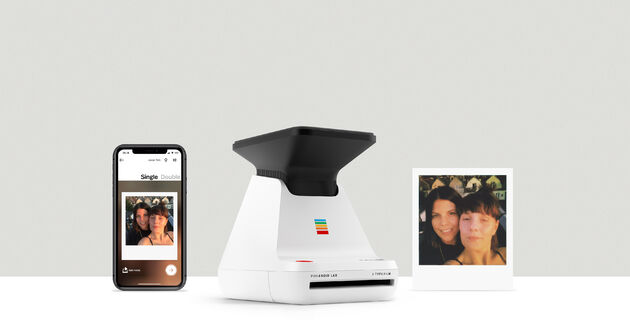 Polaroid Lab printer smartphone