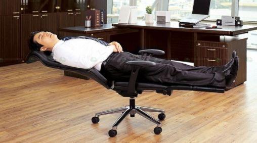 Powernappen op kantoor met Anychair
