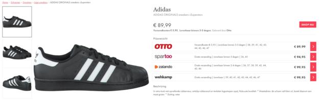 prijsvergelijken-mode