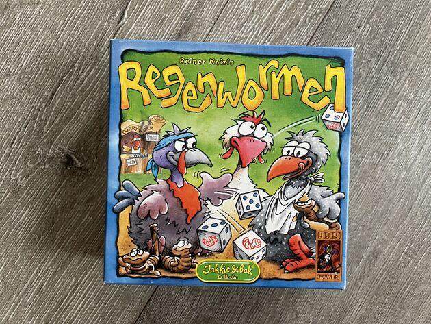 Regenwormen leuke spelletjes